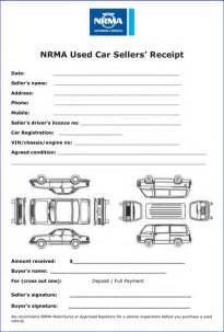Auto Receipt Template by Sales Receipt Template For Excel Pdf And Word