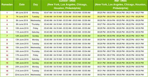 Calendar 2015 Usa Ramadan 2016 Usa Ramadan Calendar 2016 Usa Fasting Timetable