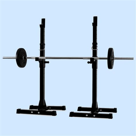 weight bench stand new gym squat barbell power rack stand adjustable press