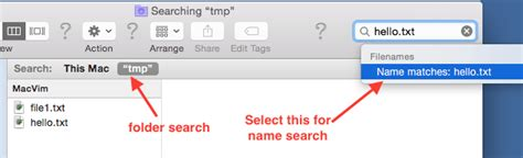 Search By Name Only How To Search Files By Name In Mac Finder Infoheap