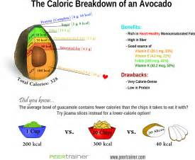 avocado calories how many calories are in an avocado