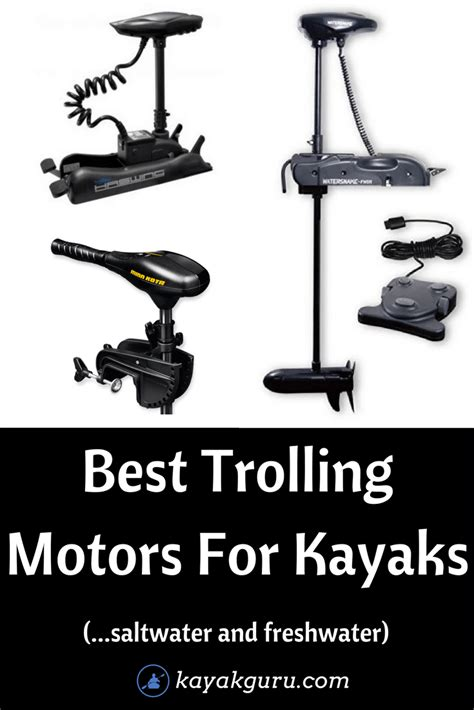 electric trolling motor for saltwater best trolling motors for kayaks 2018 saltwater