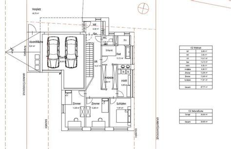 Einfamilienhaus Hanglage Planen by Grundriss Haus Am Hang S 252 Dhang Grundrissforum Auf