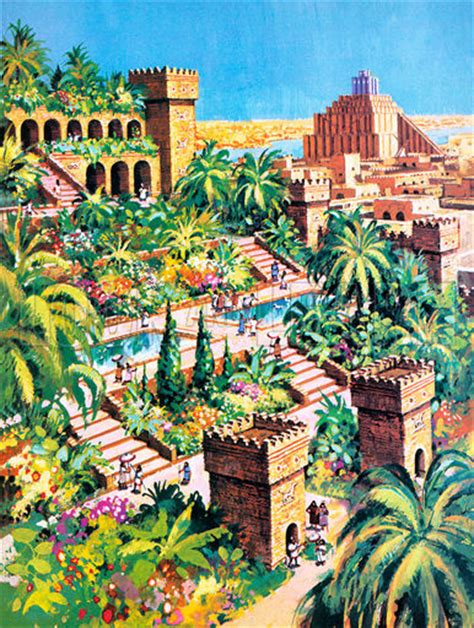 Gardens Of The Ancients - the hanging gardens of babylon