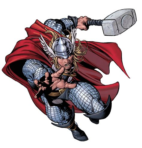 marvel heroes with weapons fb cover ocean character profile series thor