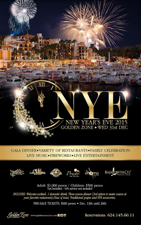san jose new year events new year s events los cabos cabo san lucas san