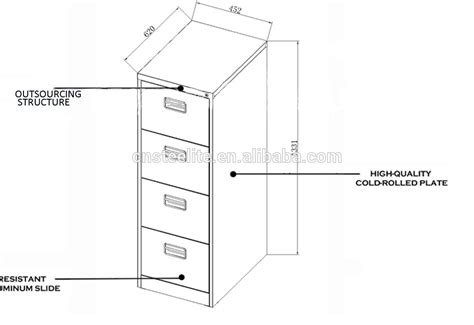 Standard File Cabinet Dimensions by File Cabinet Ideas Open Or Locking Letter Vertical