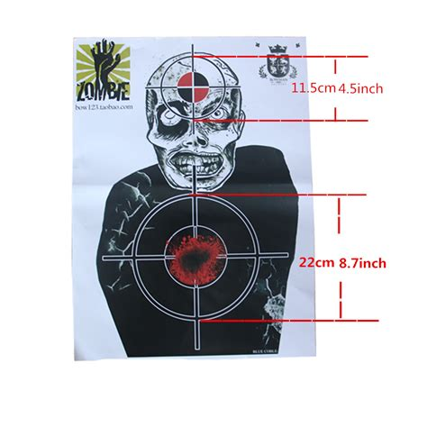 printable shooting targets games corpse target paper shooting targets game and skill