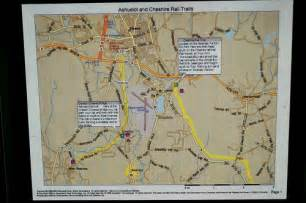 bike trail map at cresson covered bridge nh 1 flickr