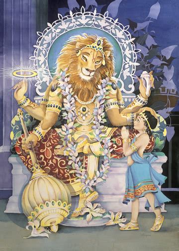 lord narasimha dev avatar 4 narasimha sri satchmo