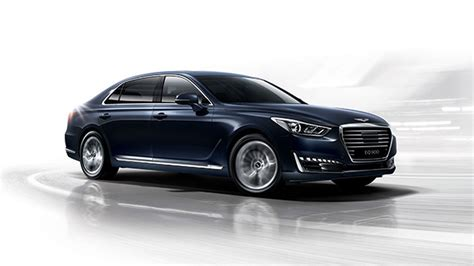 hyundai genesis motor two sedans two suvs and sporty coupe to join g90 in