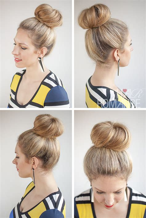 hairstyles sock buns sock bun hairstyles for long hair