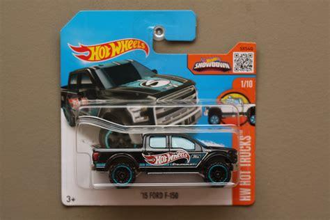Hotwheels Wheels 15 Ford F 150 wheels 2016 hw trucks 15 ford f 150 black