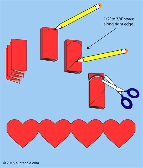 How To Make Out Of Paper - how to make paper chains valentines crafts