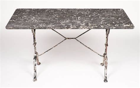 Sale Table Top 60 X 130 Perangkat Untuk Foto Profesional antique marble top cast iron bistro table for sale at 1stdibs