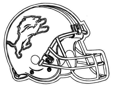 nfl lions coloring pages nfl helmet clipart 74