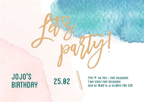happy birthday invitations templates our top 10 birthday invitation templates for teenagers