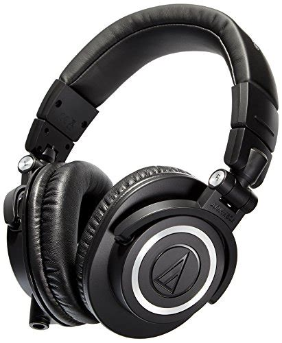 Audio Technica Ath M50x Professional Monitor Headphones Merah audio technica ath m50x professional studio monitor headphones
