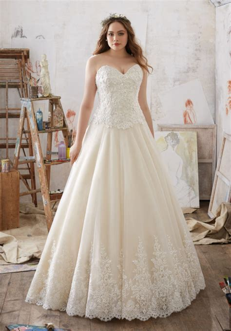 Plus Size Bridal Gowns by Julietta Collection Plus Size Wedding Dresses Morilee