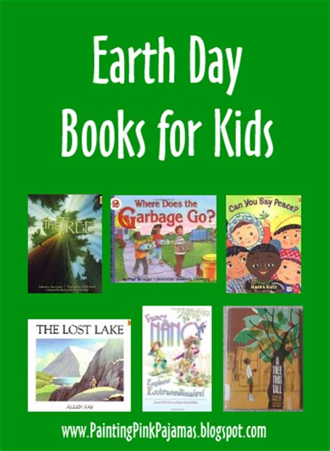 earth day picture books painting pink pajamas earth day books for