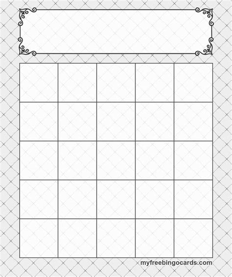 free printable bingo cards template 5x5 bingo templates cards bingo template