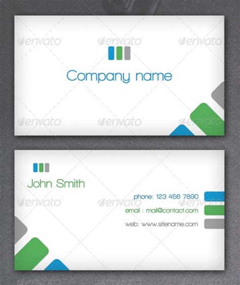 Simple Business Card Template by Simple Name Card Template Beautiful Template Design Ideas