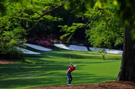 Three Second Gc the curtains at augusta national