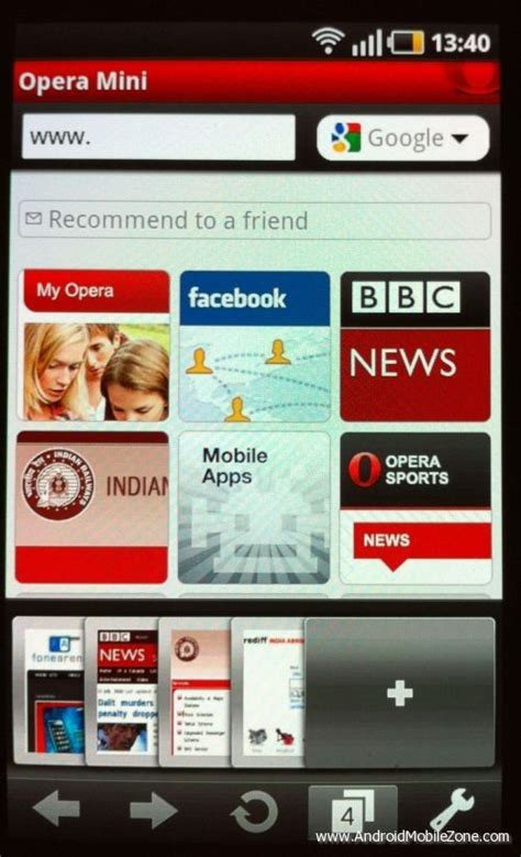 opera mini browser apk opera for android opera software androidmobilezone