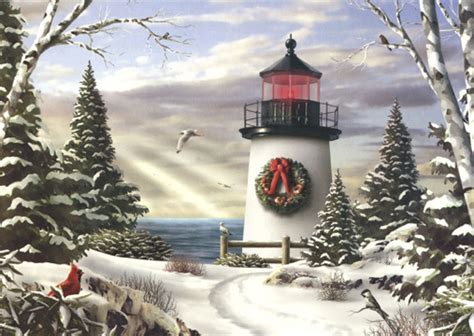 sailing   box   alan giana christmas cards  lpg