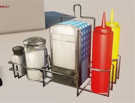 Condiment Rack by Condiment Holder Quot Sixties Quot Image Mouldtooth Mod Db