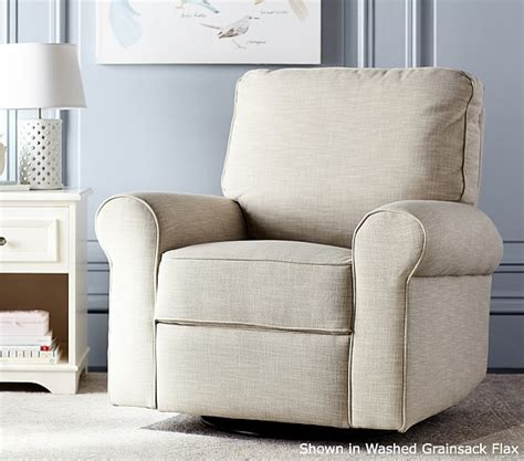 Pottery Barn Recliner by Comfort Swivel Rocker Recliner Pottery Barn