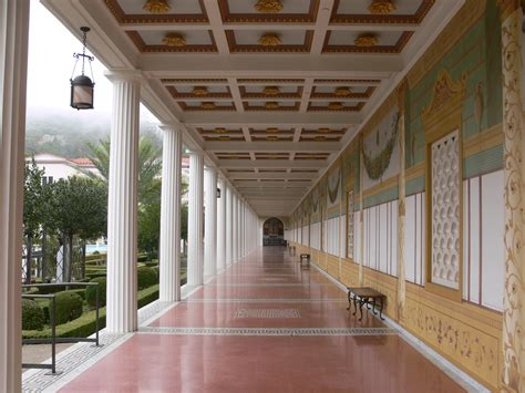Build Your Own House Plans file getty villa portico main courtyard jpg wikimedia