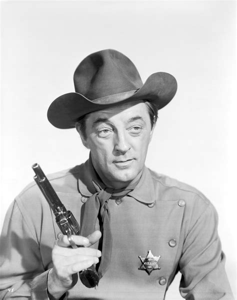 cowboy film westerns pin still of robert mitchum john wayne charlene holt and