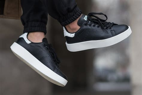 Sepatu Adidas Originals Stan Smith W Black adidas stan smith bold black ba7772 sneaker bar detroit