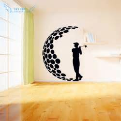 modern wall stickers for living room aliexpress buy play golf vinyl wall stickers 3d
