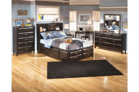 kira full storage bed kira 6 piece queen storage bedroom set by ashley furniture