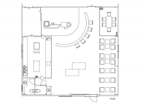 coffee shop floor plan layout 156 sqm coffee shop cafe design idea from warehouse