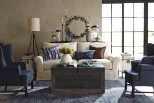 pottery barn livingroom say hello to pottery barn s performance fabric collection