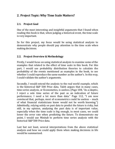 statistical analysis report template statistics project report