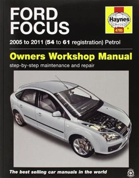 how to fix cars 2002 ford focus user handbook ford focus petrol 2005 2011 haynes owners service