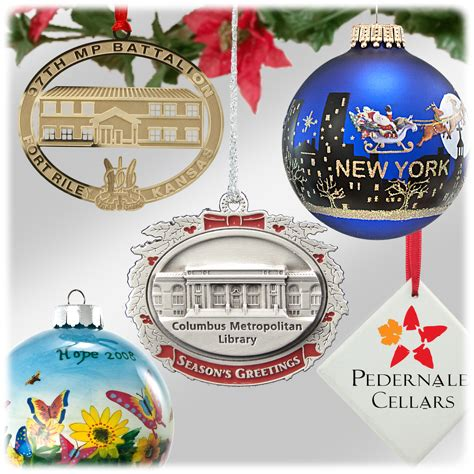 custom christmas ornaments howe house limited editions