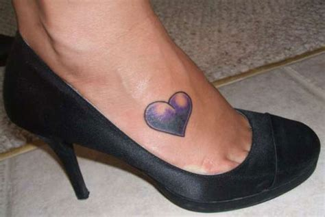 small heart foot tattoos 45 staggering small tattoos creativefan