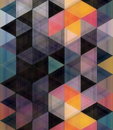 geometric triangle pattern design geometric patterns on tumblr