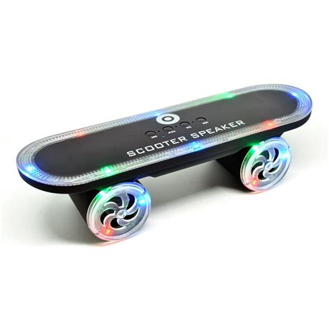 Speaker Bluetooth Mini Light Led Sport Car 1 skateboard led light bluetooth speaker black