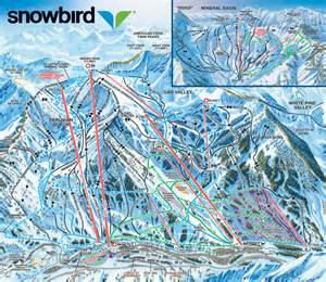 Snowbird Utah Map by Pics Photos Alta Ski Resort Trail Sign Snowbird