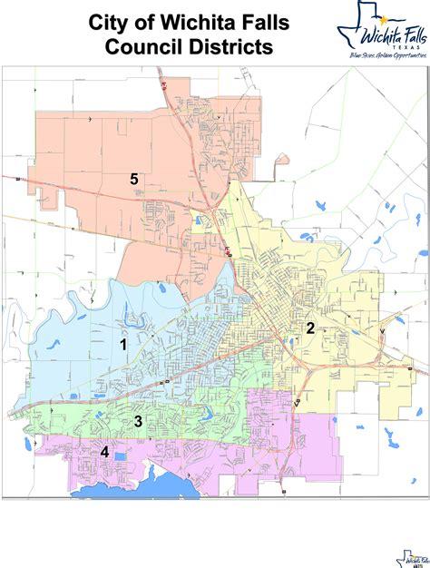 wichita falls map wichita falls zip code map zip code map