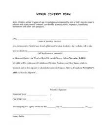 doc 575709 travel consent form template travel consent