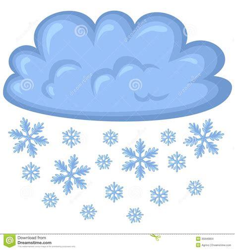 Cloud Wants Snow snow weather clipart