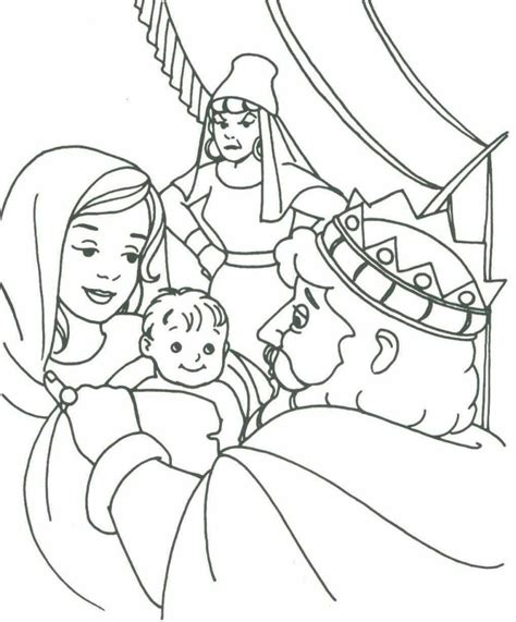 king solomon bible page to color 019 king solomon coloring pages coloring home