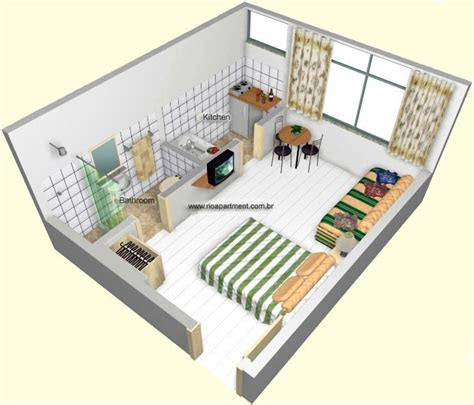 Studio Apartments In South Ta Studio Apartment Floorplans Find House Plans Casa